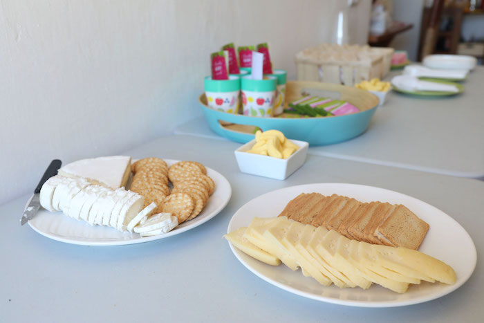 Food Table from a Two-tti Frutti Birthday Party on Kara's Party Ideas | KarasPartyIdeas.com (10)