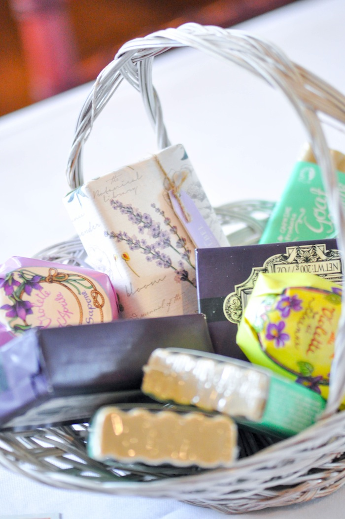 Soap Game Prizes Vintage Lavender and Silver Baby Shower for Kara's Party Ideas | Kara Allen-5