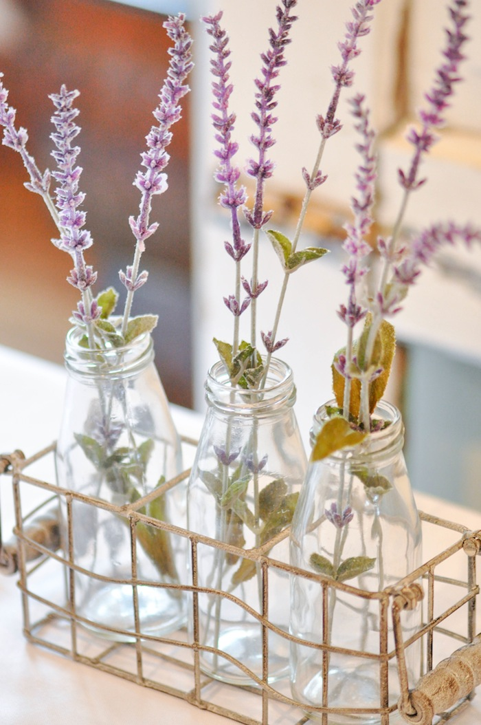 d3f7d74744 Lavender in Jars at a Vintage Lavender and Silver Baby Shower for Kara s  Party Ideas