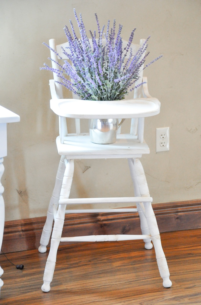 Vintage Lavender and Silver Baby Shower for Kara's Party Ideas | Kara Allen-5