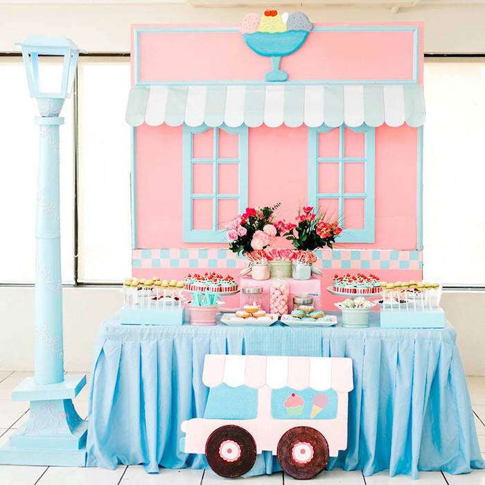 1950's American Diner Birthday Party on Kara's Party Ideas | KarasPartyIdeas.com (28)