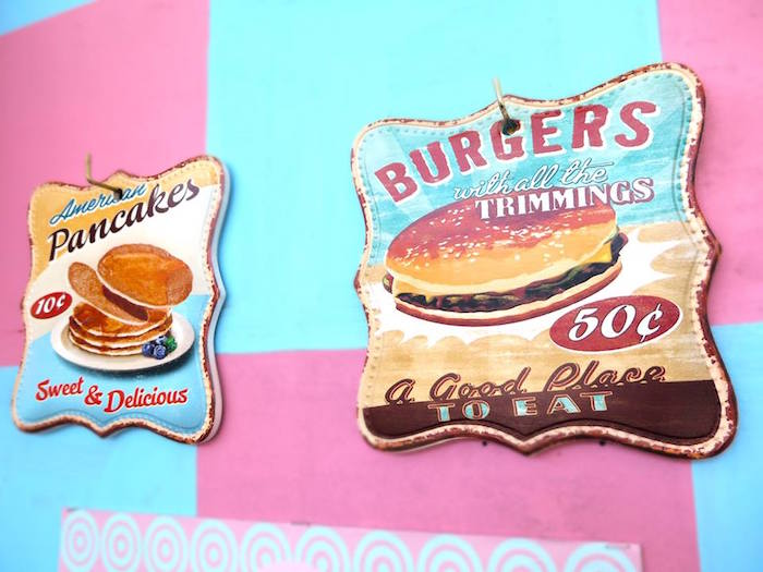 1950's American Diner Birthday Party on Kara's Party Ideas | KarasPartyIdeas.com (24)