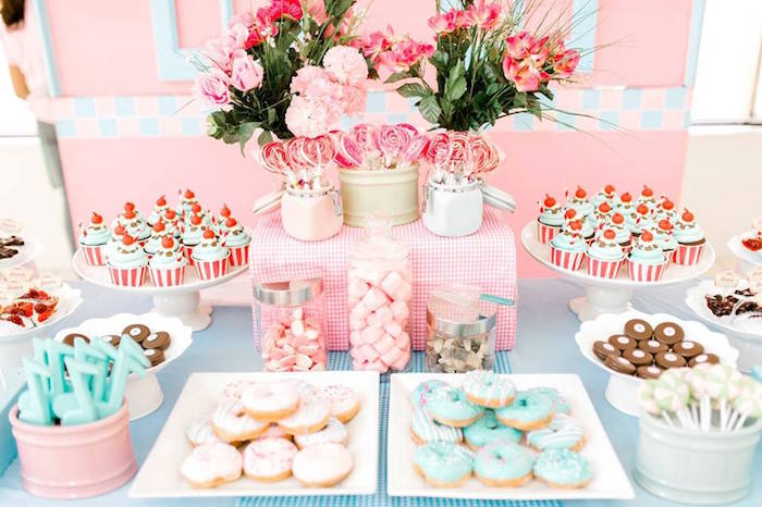 1950's American Diner Birthday Party on Kara's Party Ideas | KarasPartyIdeas.com (23)