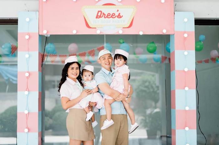 1950's American Diner Birthday Party on Kara's Party Ideas | KarasPartyIdeas.com (19)