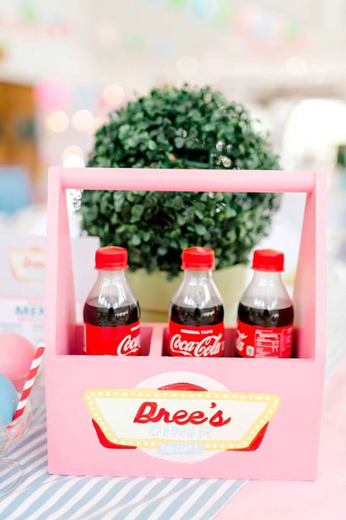 1950's American Diner Birthday Party on Kara's Party Ideas | KarasPartyIdeas.com (13)