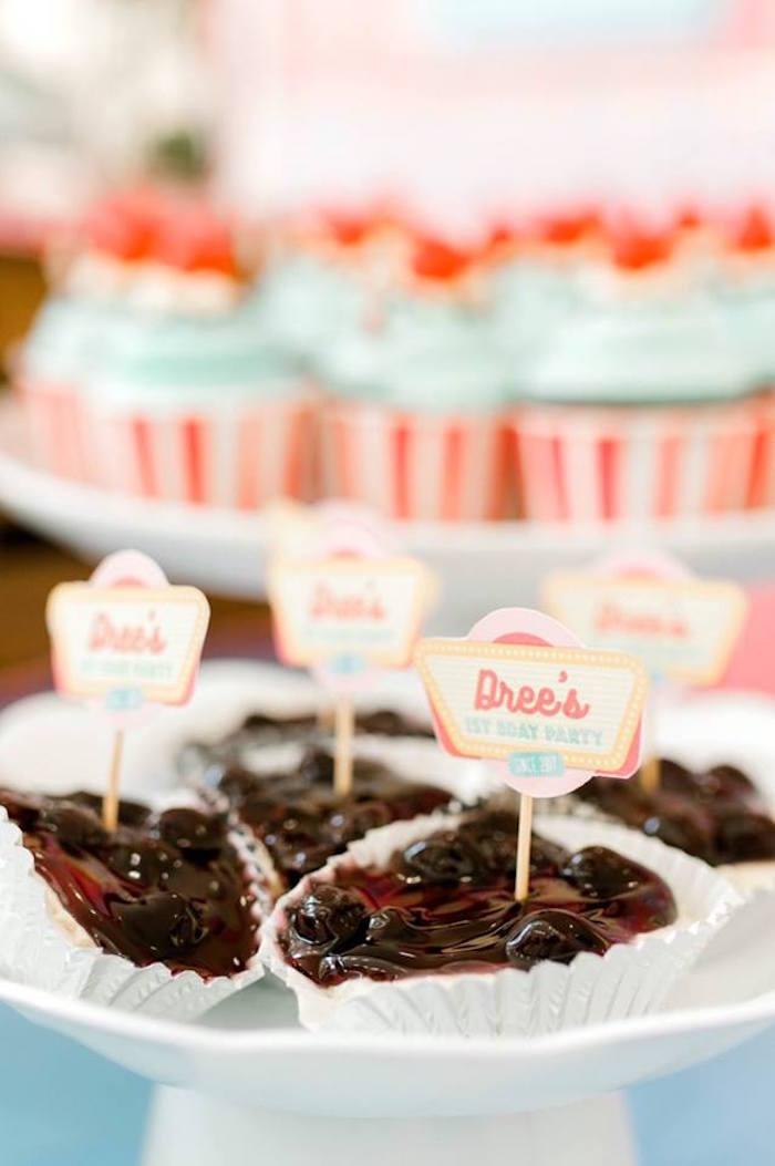 1950's American Diner Birthday Party on Kara's Party Ideas | KarasPartyIdeas.com (8)