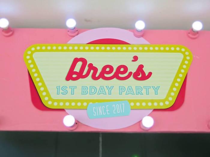 1950's American Diner Birthday Party on Kara's Party Ideas | KarasPartyIdeas.com (40)