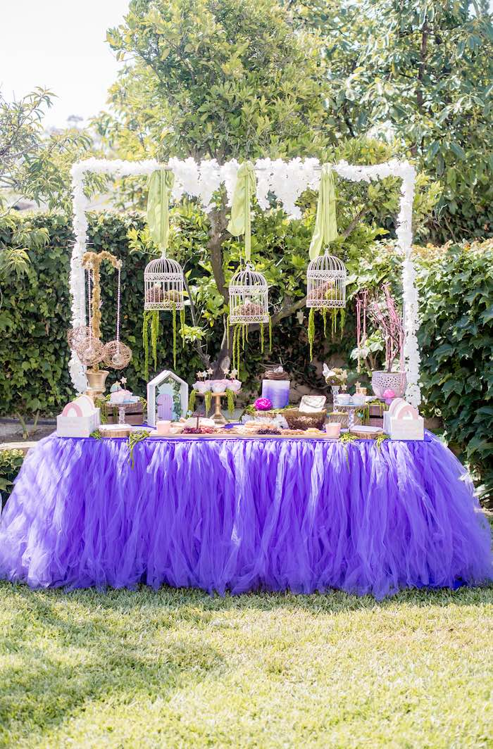 """Fairies Welcome"" Birthday Party on Kara's Party Ideas | KarasPartyIdeas.com (55)"