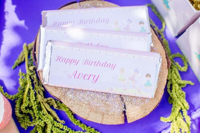 "Fairy Candy Bars from a ""Fairies Welcome"" Birthday Party on Kara's Party Ideas | KarasPartyIdeas.com (35)"