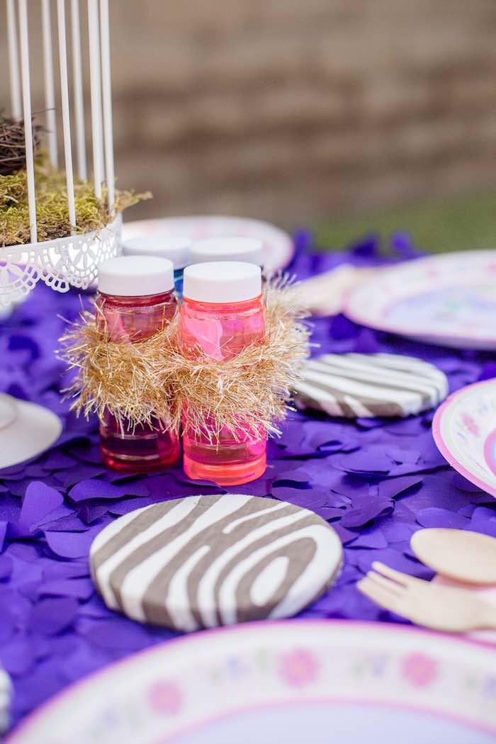 "Fairy Bubbles from a ""Fairies Welcome"" Birthday Party on Kara's Party Ideas | KarasPartyIdeas.com (13)"