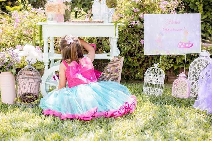 """Fairies Welcome"" Birthday Party on Kara's Party Ideas | KarasPartyIdeas.com (8)"