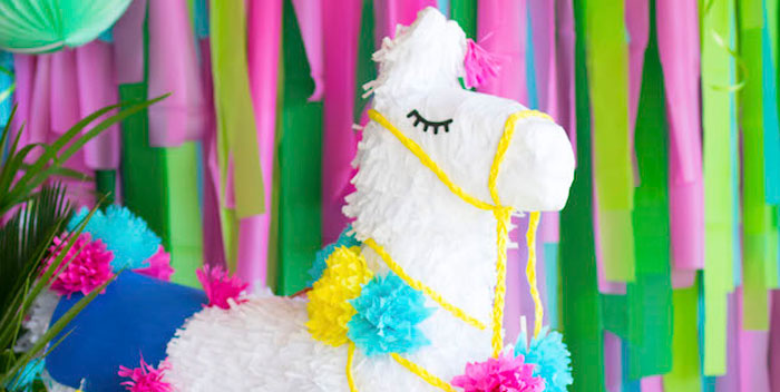Alpaca Birthday Fiesta on Kara's Party Ideas | KarasPartyIdeas.com (4)