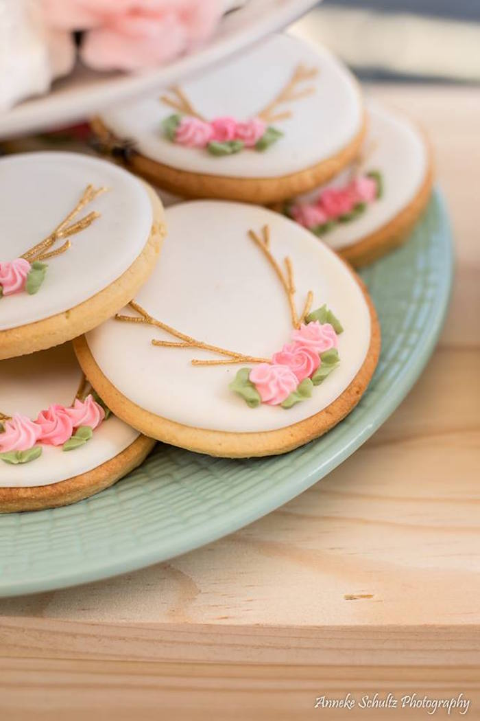 Boho Sugar Cookies from a Boho African Safari Birthday Party on Kara's Party Ideas | KarasPartyIdeas.com (23)