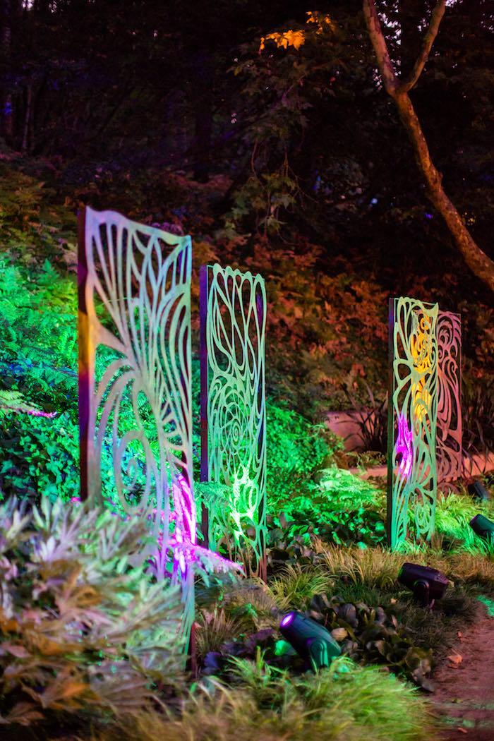 Light Show from a Boho Hippie Summer of Love Birthday Party on Kara's Party Ideas   KarasPartyIdeas.com (9)