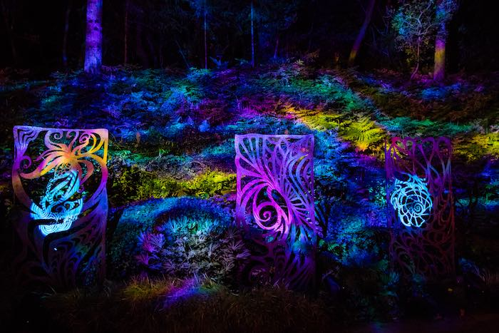 Light Show from a Boho Hippie Summer of Love Birthday Party on Kara's Party Ideas   KarasPartyIdeas.com (6)