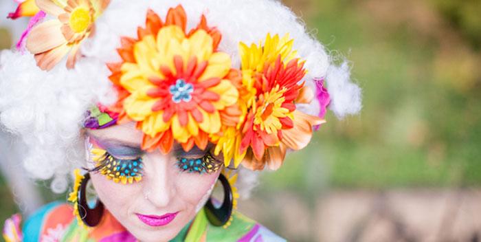 Boho Hippie Summer of Love Birthday Party on Kara's Party Ideas   KarasPartyIdeas.com (4)