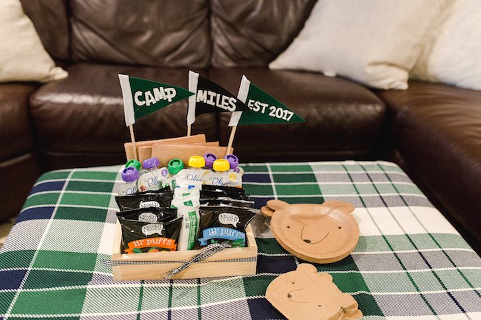 Buffalo Check Camping Birthday Party on Kara's Party Ideas | KarasPartyIdeas.com (35)