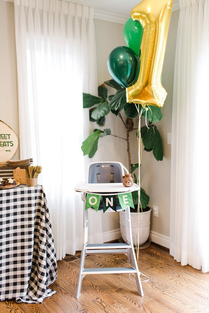 Buffalo Check Camping Birthday Party on Kara's Party Ideas | KarasPartyIdeas.com (31)