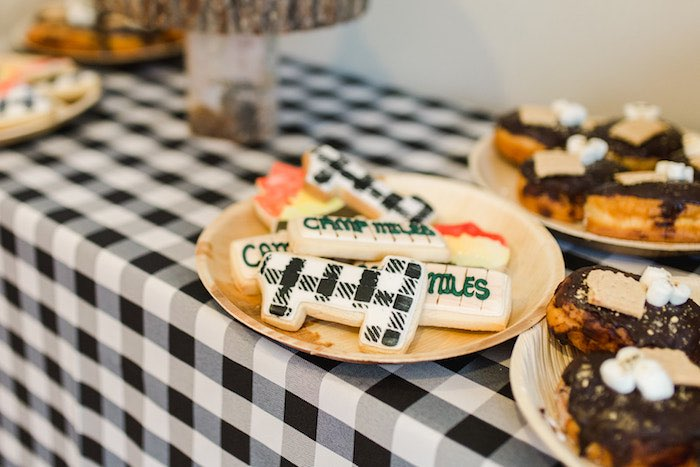 Buffalo Check Camping Birthday Party on Kara's Party Ideas | KarasPartyIdeas.com (23)