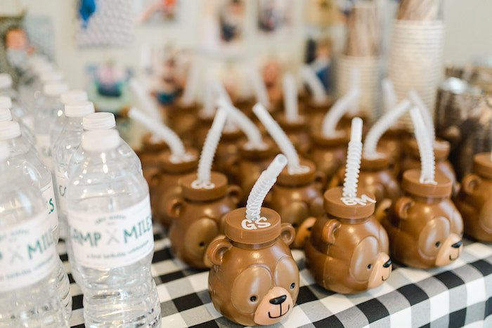 Buffalo Check Camping Birthday Party on Kara's Party Ideas | KarasPartyIdeas.com (20)