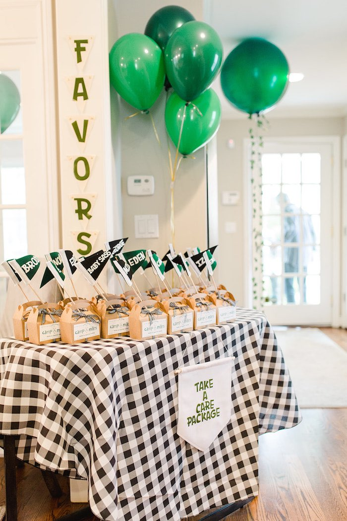 Buffalo Check Camping Birthday Party on Kara's Party Ideas | KarasPartyIdeas.com (42)