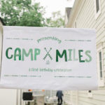 Buffalo Check Camping Birthday Party on Kara's Party Ideas | KarasPartyIdeas.com (4)
