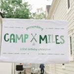 Buffalo Check Camping Birthday Party on Kara's Party Ideas | KarasPartyIdeas.com (4)