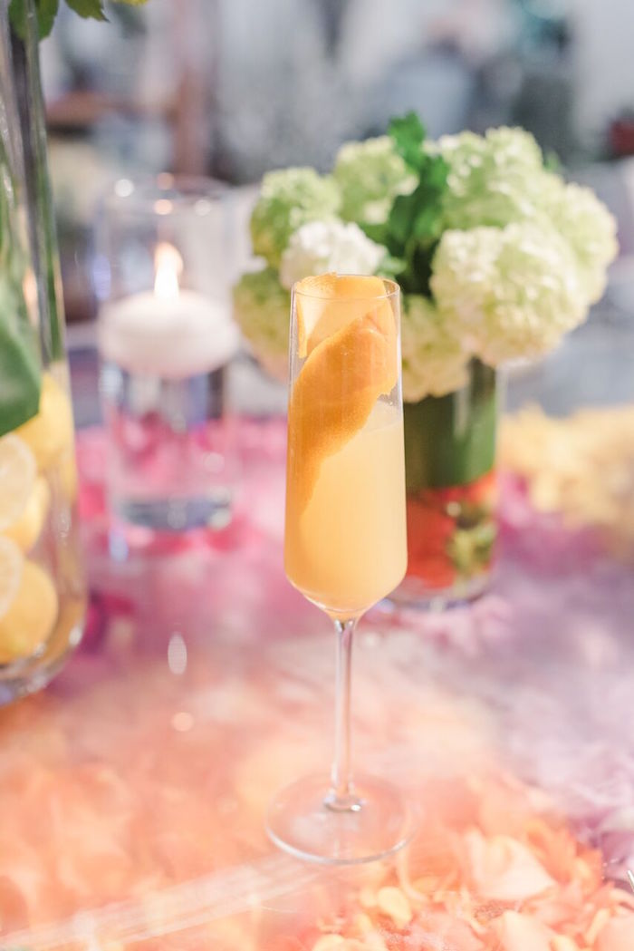 Summer Drink from a Floral Garden Dinner Party on Kara's Party Ideas | KarasPartyIdeas.com (9)