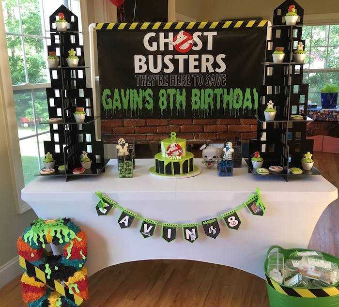 Ghostbusters Birthday Party on Kara's Party Ideas | KarasPartyIdeas.com (4)