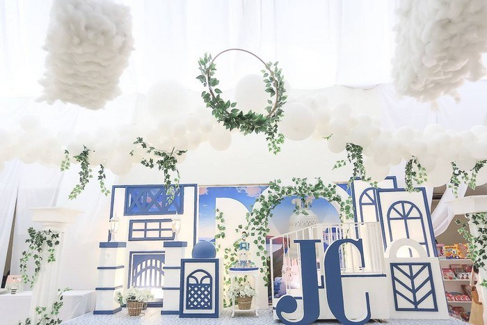 Greek Birthday Party on Kara's Party Ideas | KarasPartyIdeas.com (12)