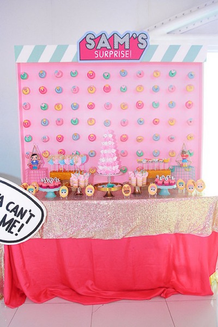 L.O.L. Surprise Dessert Table from an L.O.L. Surprise Birthday Party on Kara's Party Ideas | KarasPartyIdeas.com (19)