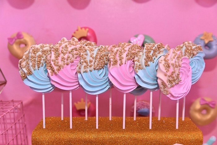 Meringue Lollipops from an L.O.L. Surprise Birthday Party on Kara's Party Ideas | KarasPartyIdeas.com (15)
