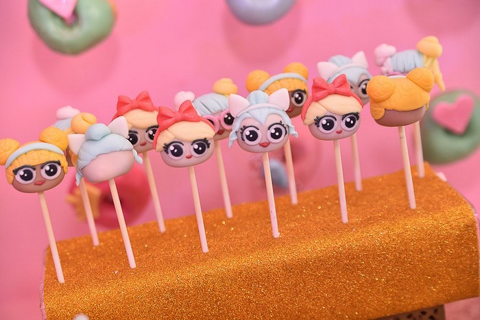 L.O.L. Surprise Doll Cake Pops from an L.O.L. Surprise Birthday Party on Kara's Party Ideas | KarasPartyIdeas.com (9)
