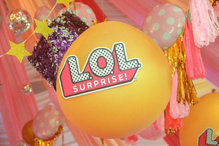 L.O.L. Surprise Balloon from an L.O.L. Surprise Birthday Party on Kara's Party Ideas | KarasPartyIdeas.com (31)