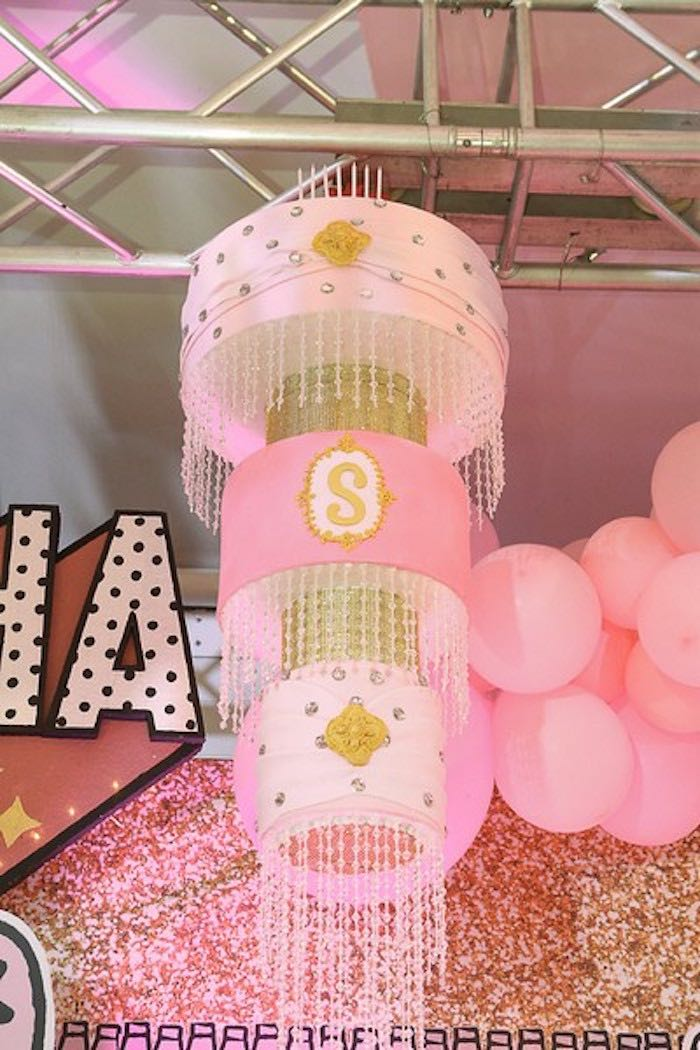 Crystal Pink Chandelier from an L.O.L. Surprise Birthday Party on Kara's Party Ideas | KarasPartyIdeas.com (26)