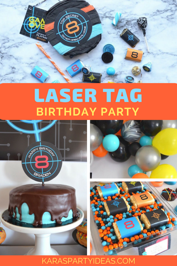 Sensational Karas Party Ideas Laser Tag Birthday Party Karas Party Ideas Funny Birthday Cards Online Inifofree Goldxyz