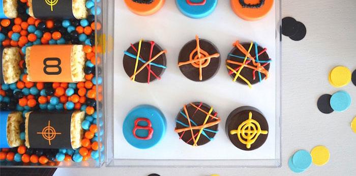 Laser Tag Birthday Party on Kara's Party Ideas | KarasPartyIdeas.com (3)