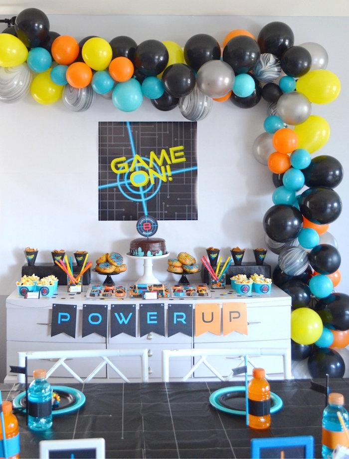 Laser Tag Birthday Party on Kara's Party Ideas | KarasPartyIdeas.com (19)