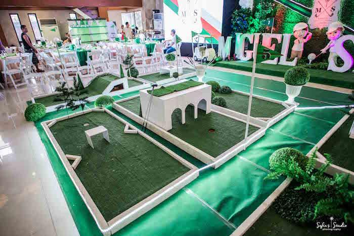 Little Golfers Golf Birthday Party on Kara's Party Ideas | KarasPartyIdeas.com (13)