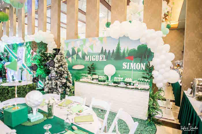 Little Golfers Golf Birthday Party on Kara's Party Ideas | KarasPartyIdeas.com (23)