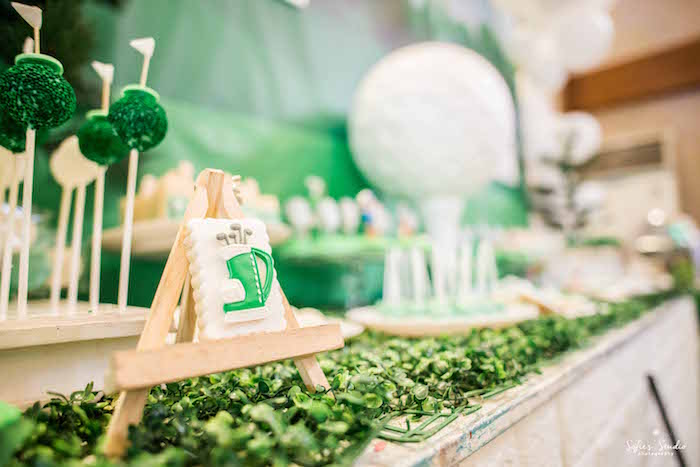 Golf Cookie from a Little Golfers Golf Birthday Party on Kara's Party Ideas | KarasPartyIdeas.com (21)