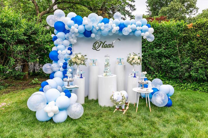 Little Lamb Inspired Baptism Party on Kara's Party Ideas | KarasPartyIdeas.com (31)