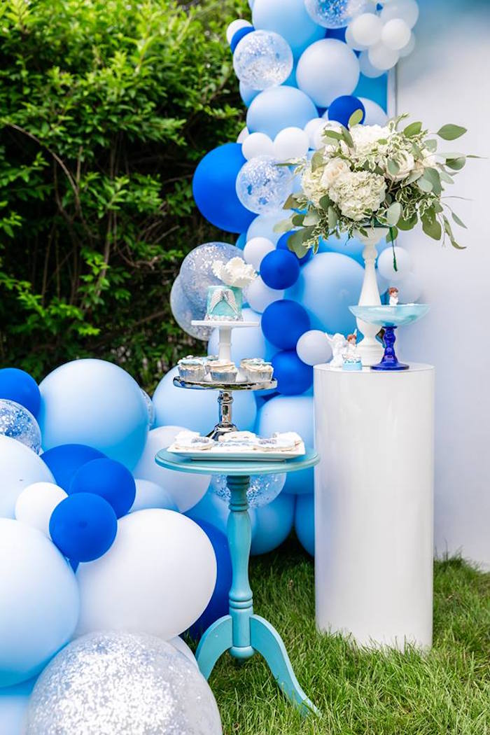 Dessert Pedestal Tables from a Little Lamb Inspired Baptism Party on Kara's Party Ideas | KarasPartyIdeas.com (27)