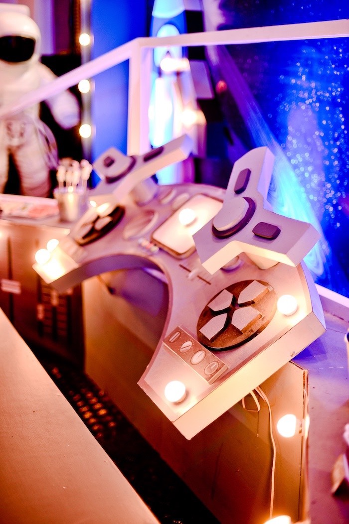 Space Shuttle Dessert Table from an Outer Space Birthday Party on Kara's Party Ideas | KarasPartyIdeas.com (10)
