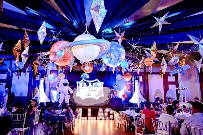 Outer Space Birthday Party on Kara's Party Ideas | KarasPartyIdeas.com (24)