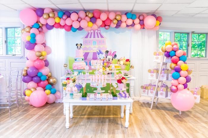 Pastel Minnie Mouse & Daisy Duck Party on Kara's Party Ideas | KarasPartyIdeas.com (13)