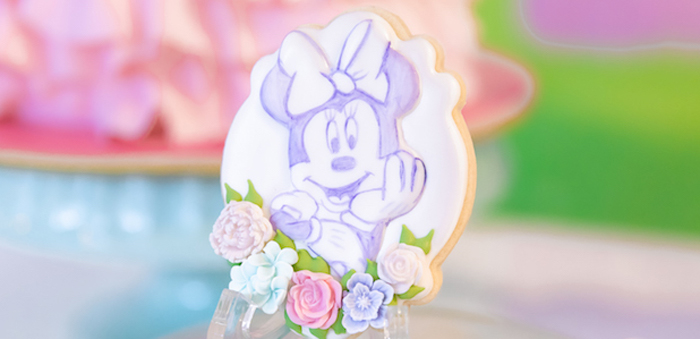 Pastel Minnie Mouse & Daisy Duck Party on Kara's Party Ideas | KarasPartyIdeas.com (5)
