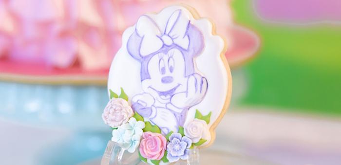 Pastel Minnie Mouse & Daisy Duck Party on Kara's Party Ideas | KarasPartyIdeas.com (5)