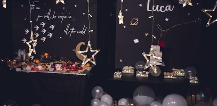 Petit Prince Baby Shower on Kara's Party Ideas | KarasPartyIdeas.com (1)