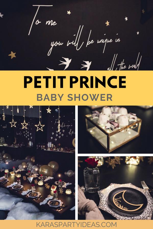 Petit Prince Baby Shower via Kara's Party Ideas - KarasPartyIdeas.com